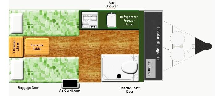 Aliner floorplan modifications