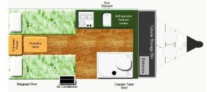 Aliner floorplan modifications