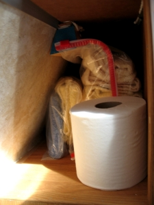 Aliner linen closet
