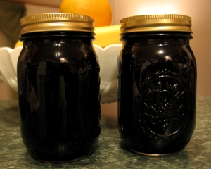 wild black cherry syrup