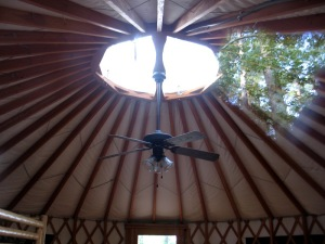 yurt opening skylight