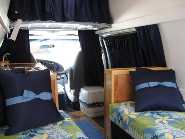 van bed plans