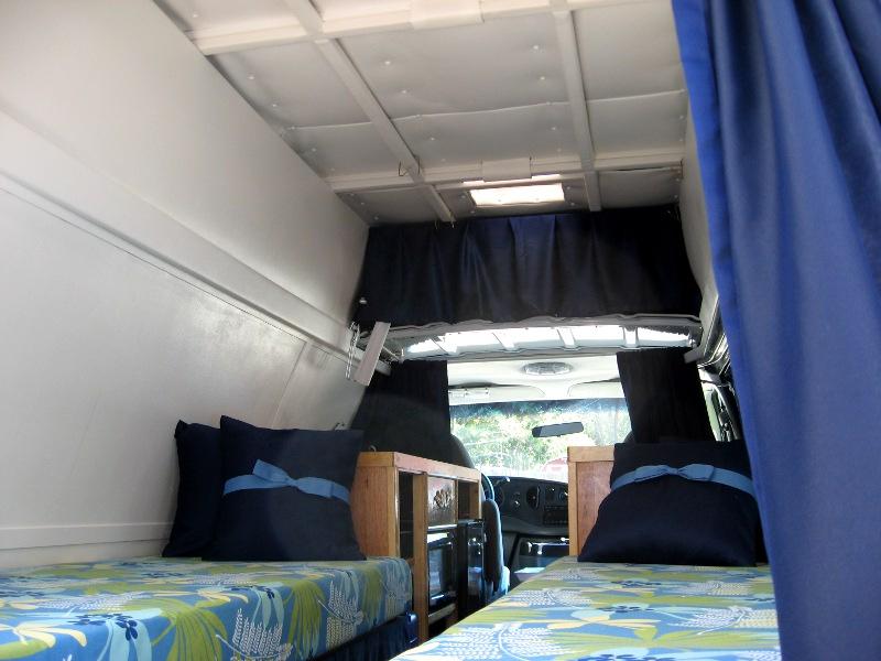 Cargo Van To Camper Van