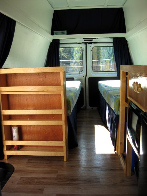 Cargo Van to Camper Van | Tinycamper's Blog