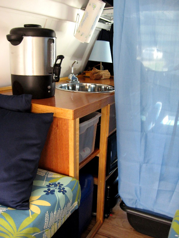 25 cup coffeemaker makes a great water heater.