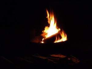 Just because I love camp fire pictures!