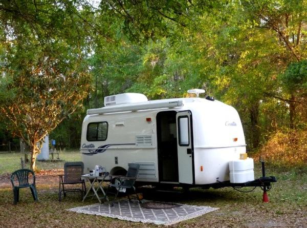 Camping at Mom's