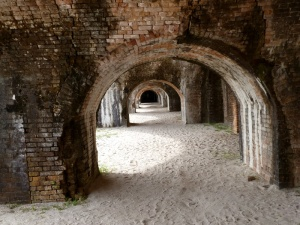 Rear arches with sand floors