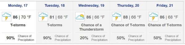 Our forecast
