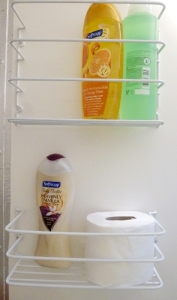 New bathroom storage racks