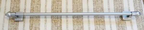 The magnetic curtain rod