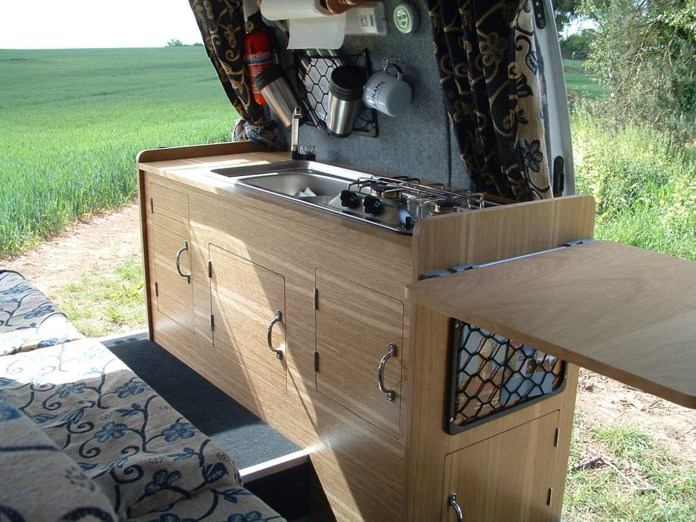 This Photo Is From A UK Small Van Campervan Conversion Project Website Campervanconversioncouk Projects Tin Tent 2