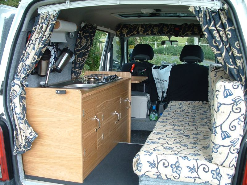 Honda Odyssey Minivan Camper Conversion Another of the mini van camper