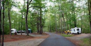 Our campsites