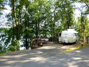 Our site over the lake