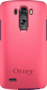 The back of the case is a screaming pink.