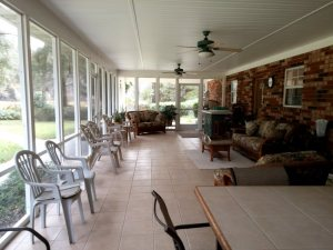Another view of the porch