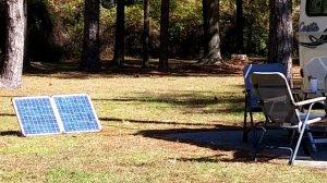 The magic solar panel!