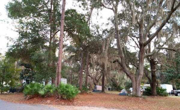 Campground at Stephen Foster Cultural Center