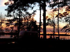 Casita at sunset