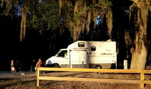 The home built RV from Eastbank