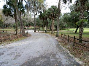 A camp road