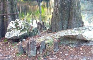 Limestone outcroppings
