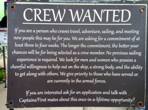 Here's your chance, wannabe sailors!