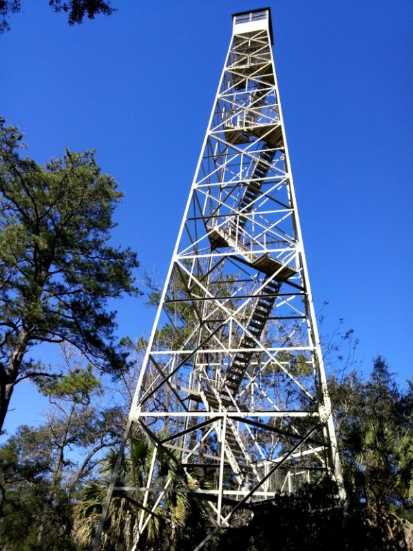 It's been a while since I've seen an old fire tower.