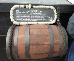 Provisions cask