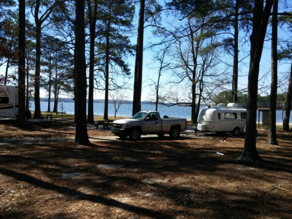 Our Casita at Pine Island Campground